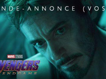 Avengers : Endgame – Bande-annonce officielle (VOST)