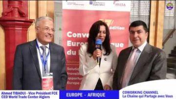 COWORKING CHANNEL présente Ahmed TIBAOUI, FCE avec Meriem Belazouz