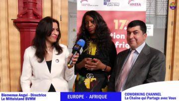 Coworking Channel présente Bienvenue Angui de DerMittelstand – BVMW avec Meriem Belazouz