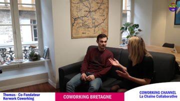 COWORKING CHANNELprésente l'interview de Tom Gélanos, co-fondateur de l'espace Kerwork Coworking