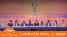 ATLANTIQUE – Conférence de presse – Cannes 2019 – VF