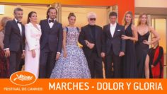 DOLOR Y GLORIA – Les marches – Cannes 2019 – VF