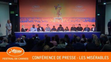 LES MISERABLES – Conférence de presse – Cannes 2019 – VF