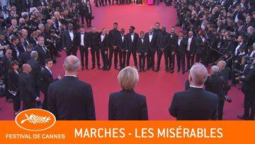LES MISERABLES – Les Marches – Cannes 2019 – VF