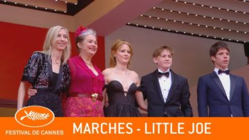LITTLE JOE – Les marches – Cannes 2019 – VF