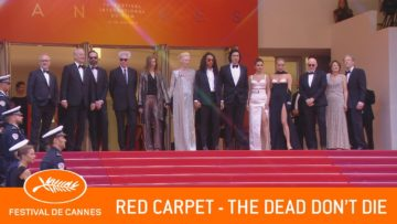 THE DEAD DON'T DIE – Red Carpet – Cannes 2019 – EV