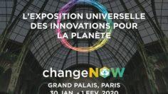 Change-Now- 1ère Exposition universelle des solutions pour la Planète, au Grand Palais, du 30 janvier au 1er février 2020-Coworking-Channel