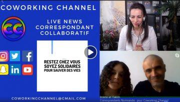 Coworking Channel Spécial Confinement Témoignage Imene Hakim en Normandie