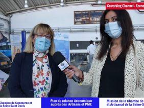 Interview Danielle Dubrac Présidente CCI Seine Saint Denis au CMA 93