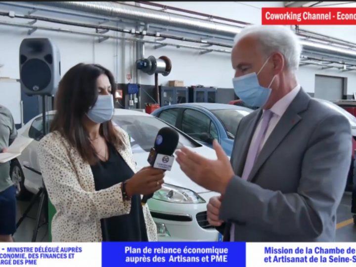 Interview Exclusive Alain Griset Ministre