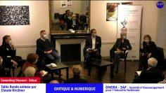 table ronde Les Enjeux dans le secteur aéronautique spatial et defense