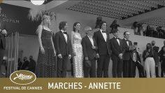 Annette – Ouverture – Les Marches