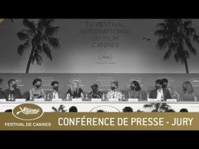 JURY – CONFERENCE DE PRESSE – CANNES 2021