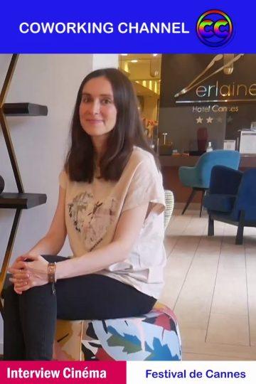 Festival Cannes 2021 Cinemai Interviex Anne Sophie Versnaeyen Compositrice de la Musique du Film OSS 117 pour Coworking Channel